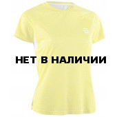 Футболка беговая Bjorn Daehlie 2018 T-Shirt Oxygen Wmn Yellow