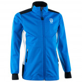 Куртка беговая Bjorn Daehlie 2017-18 Jacket Trysil Jr Electric Blue Lemonade