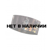 Повязка BUFF FASTWICK HEADBAND R-GRAFFITI BLACK