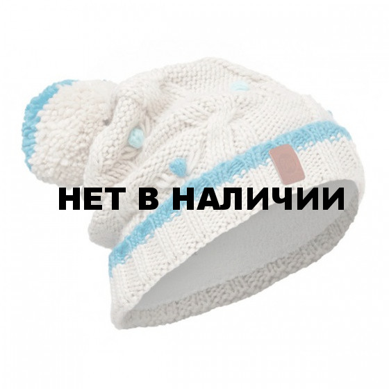 Шапка BUFF 2016-17 KNITTED KIDS COLLECTION JUNIOR KNITTED & POLAR HAT BUFF DYSHA MINERAL