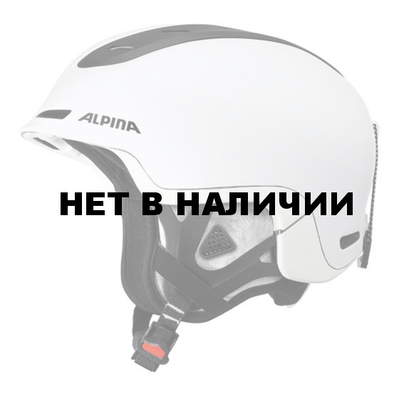 Зимний Шлем Alpina SPINE white matt