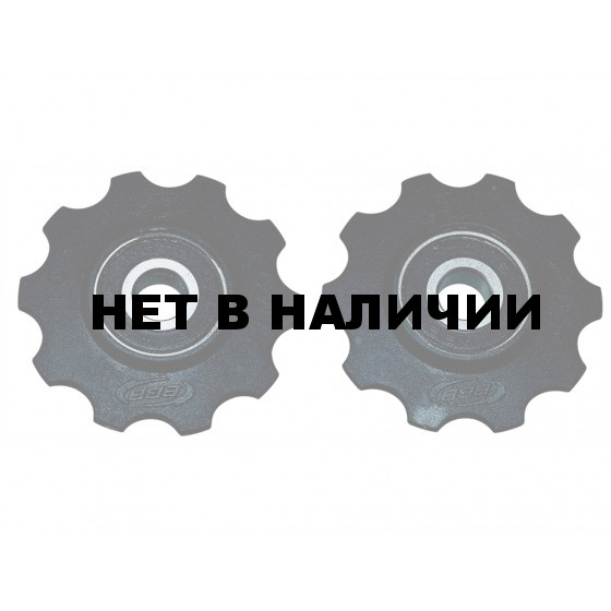 Ролики переключения BBB RollerBoys 10T black (BDP-01)
