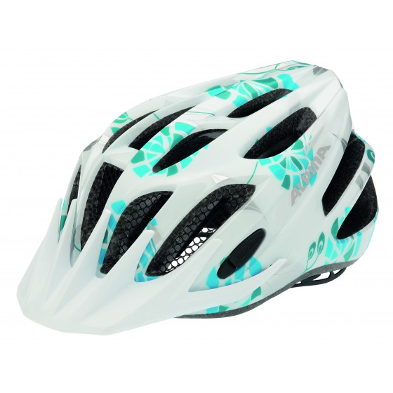 Летний шлем ALPINA JUNIOR / KIDS FB jr. 2.0 white-cyan-silver