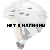 Зимний Шлем Alpina SCARA white-snowflake
