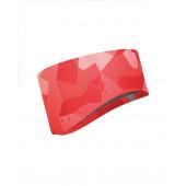 Повязка BUFF WINDPROOF HEADBAND BLOCK CAMO FLAMIINGO PINK S/M