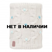 Шарф BUFF KNITTED KIDS COLLECTION JUNIOR KNITTED & POLAR NECKWARMER BUFF DYSHA MINERAL/OD