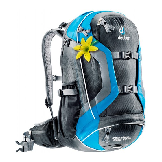 Рюкзак Deuter 2015 Bike Trans Alpine Pro 24 SL black-turquoise