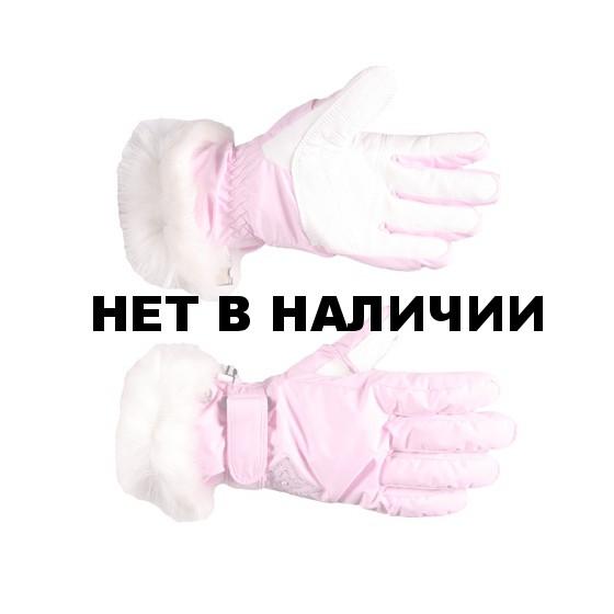 Перчатки горные GLANCE Lady (rose) св. розовый