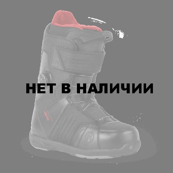Ботинки для сноуборда NIDECKER 2017-18 TRANSIT BOA BLACK (см:29,5)