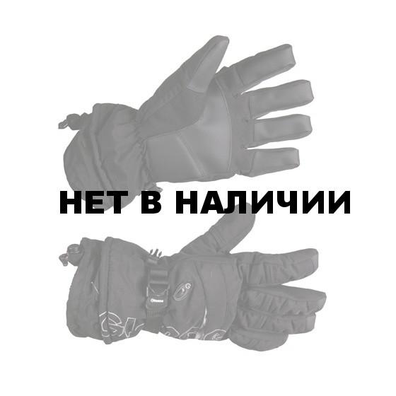 Перчатки горные GLANCE Element (black/black) черный