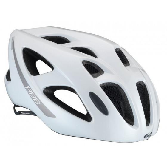 Летний шлем BBB Kite white/grey (BHE-33)