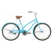 Велосипед Welt 2018 Queen Steel One light blue
