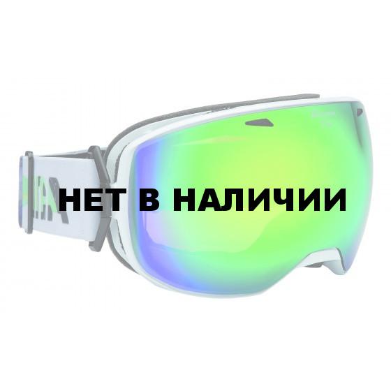 Очки горнолыжные Alpina BIG HORN MM white_MM green sph. S3