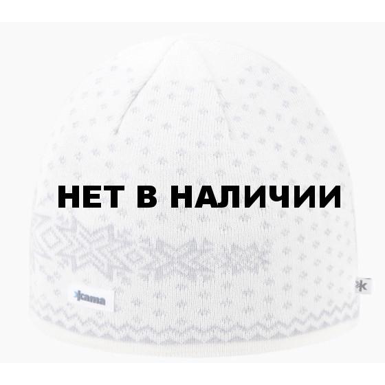 Комплект (шапка+шарф+перчатки) Kama 2018-19 SET 9 (A128+S23+ R104) off white
