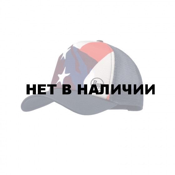 Кепка BUFF TRUCKER CAP AMERICA MULTI