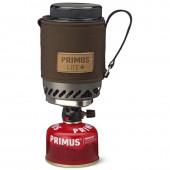 Комплект (горелка с кастрюлей) Primus 2017 Lite Plus Dark Olive Piezo