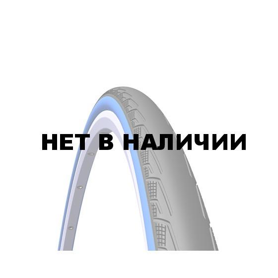Велопокрышка RUBENA V80 SYRINX 700 x 25C (25-622) CL черный/синий