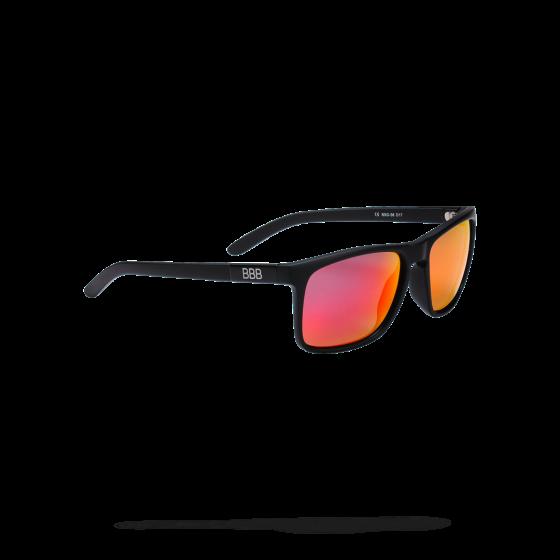 Очки солнцезащитные BBB 2018 Town PZ PC MLC red polarised lenses черный матовый