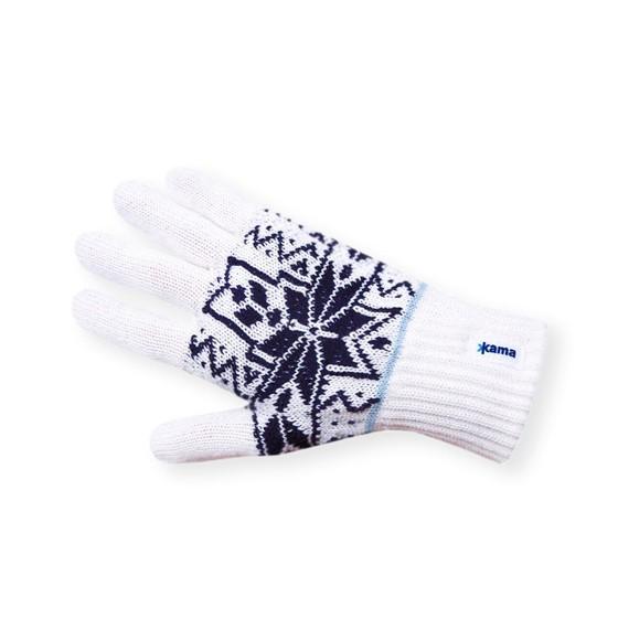 Перчатки флис Kama R12 (off-white) белый