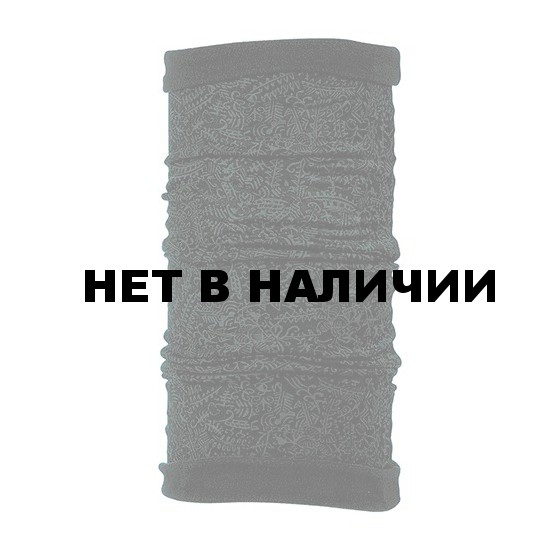 Бандана BUFF REVERSIBLE POLAR BUFF MARROC GRAPHITEBLACK FLEECE