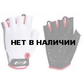 Перчатки велосипедные BBB Racer white red (BBW-37)