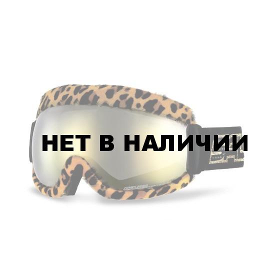 Очки горнолыжные Salice FBFURXL Cheeta/RW Gold