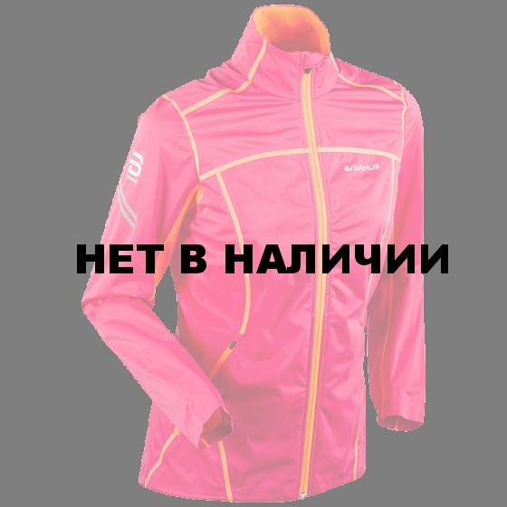 Куртка беговая Bjorn Daehlie 2017-18 Jacket Spectrum 3.0 Wmn Bright Rose (US:M)