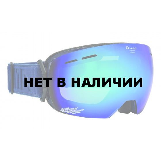 Очки горнолыжные Alpina GRANBY MM navy_MM blue sph. S2