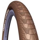 Велопокрышка RUBENA V99 CITYHOPPER 28 x 2,00 (52-622) CL коричневый