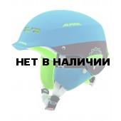 Зимний Шлем Alpina SPAM CAP JR blue-brown matt