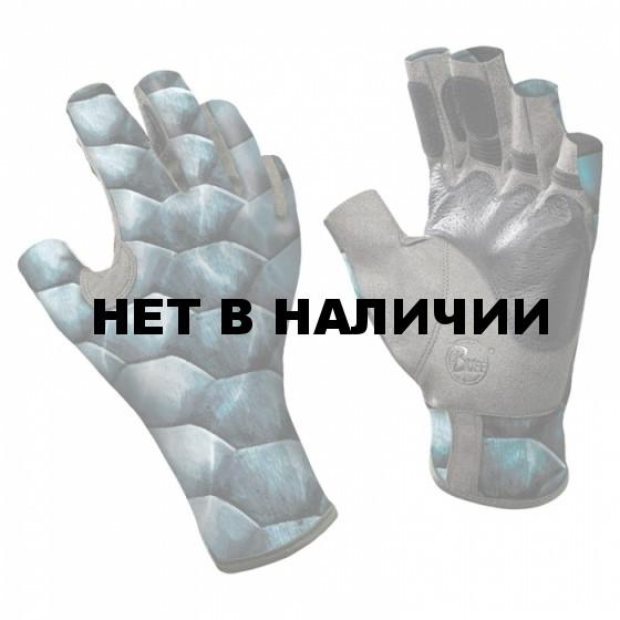 Перчатки рыболовные BUFF Angler Gloves BUFF ANGLER II GLOVES BUFF TARPON SCALES M/L
