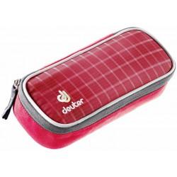 Пенал Deuter School Pencil Case raspberry check