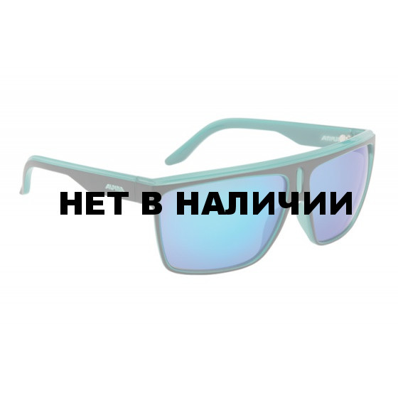 Очки солнцезащитные ALPINA 2015-16 SPORT STYLE BARANYA black matt-aqua
