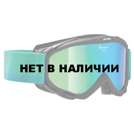Очки горнолыжные Alpina SPICE MM green/white/blue (coldgreen) (б/р:ONE SIZE)