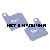 Тормозные колодки BBB DiscStop comp.w/Giant MPH-1,MPH 2001, MPH-3 2002 (BBS-70)