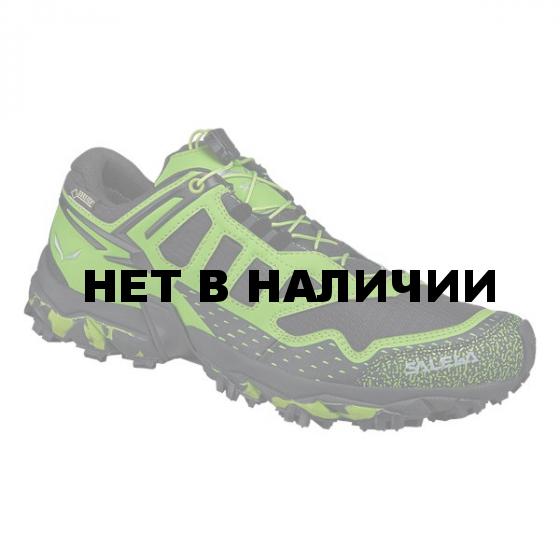 Ботинки для хайкинга (низкие) Salewa 2017-18 MS ULTRA TRAIN GTX Black/Swing Green (UK:11)
