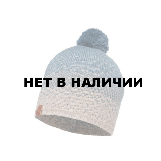 Шапка BUFF 2016-17 KNITTED HAT BUFF® MAWI STONEBLUE-STONE BLUE