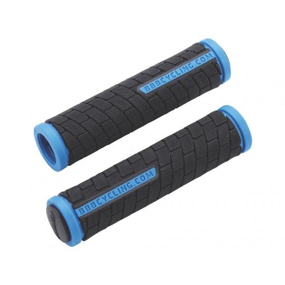 Грипсы BBB DualGrip 125mm черный/синий (BHG-06)