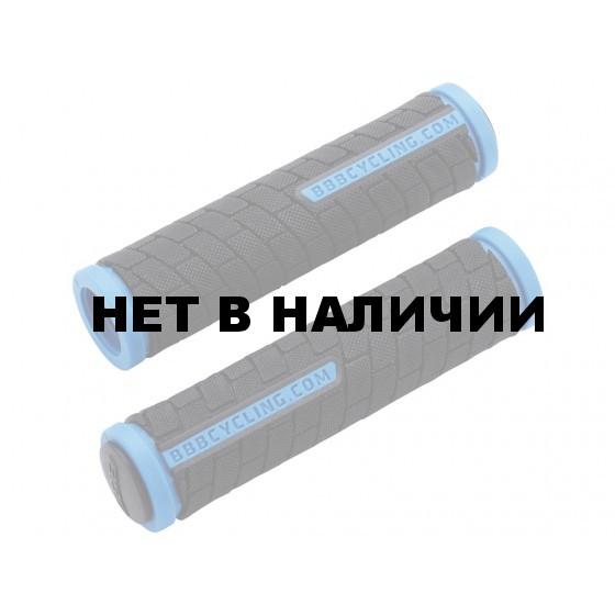 Грипсы BBB 2015 grips DualGrip 125mm black/blue (BHG-06)