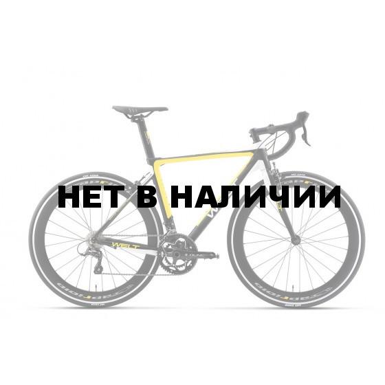Велосипед Welt R100 2017 matt black/yellow/white