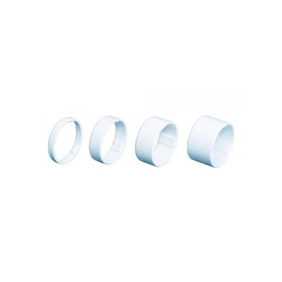 """Проставочные кольца BBB LightSpace 1-1/8"""" 5/10/15/20mm alloy white (BHP-36)"""