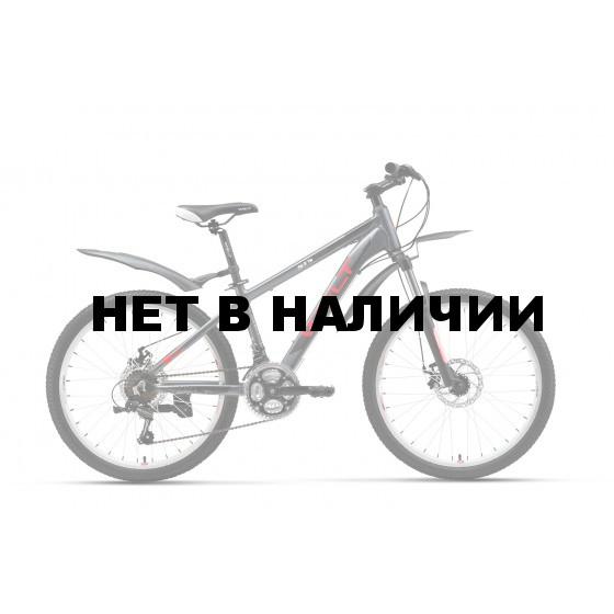Велосипед Welt Peak 24 Disc 2017 matt black/red