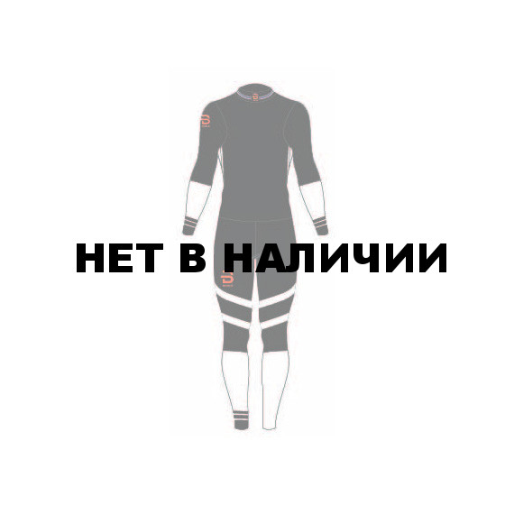 Комплект беговой Bjorn Daehlie 2017-18 Racesuit Nations Black