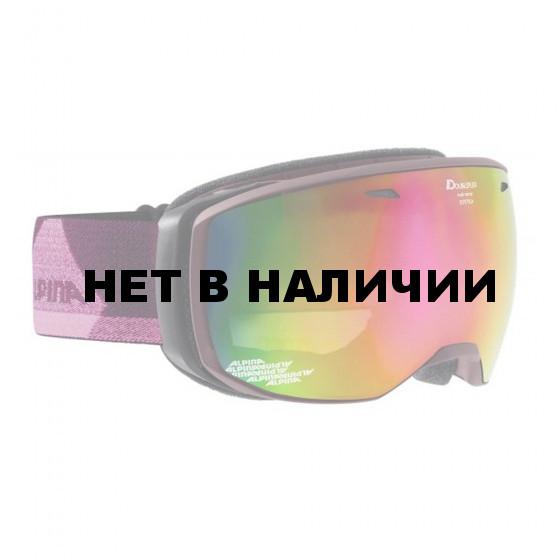 Очки горнолыжные Alpina ESTETICA MM deepviolet_MM pink sph S2