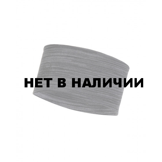 Повязка BUFF 2L MIDWEIGHT MERINO WOOL HEADBAND CASTLEROCK GREY MULTI ST