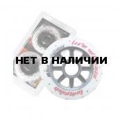 Комплект колёс для роликов TEMPISH FUNNY FIRE wheels 85A 80x24 mm (1*2pcs) Белый
