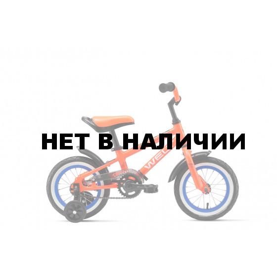 Велосипед Welt 2018 Dingo 12 orange/black/blue