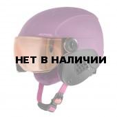Зимний Шлем Alpina CARAT L.E. VISOR HM violet matt