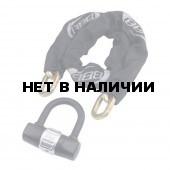 Замок велосипедный BBB PowerChain 10mmx10mm x 1000m chain + 100 x 110mm U lock (BBL-14)