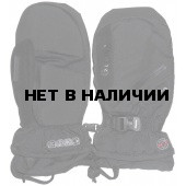 Варежки GLANCE Fighter mitten black/black (черный/черный)